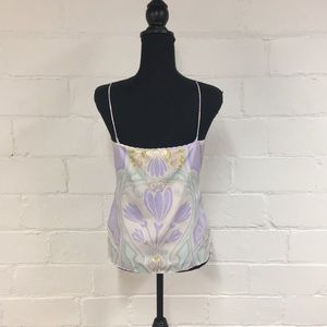 Ted Baker London Tops - Ted Baker Cami in White/Pastel Floral